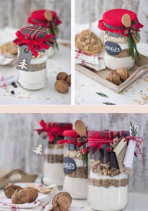 4 de Enero Taller de manualidades Diy Cookie Jar Mix